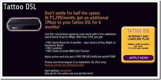 globe tattoo promo