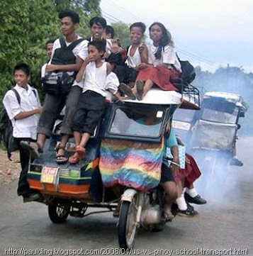 Tricycle--overloaded