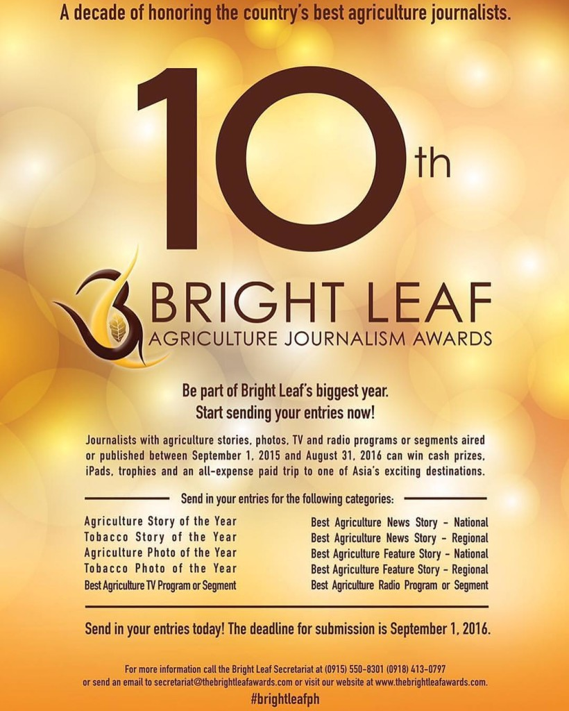 bright leaf awards